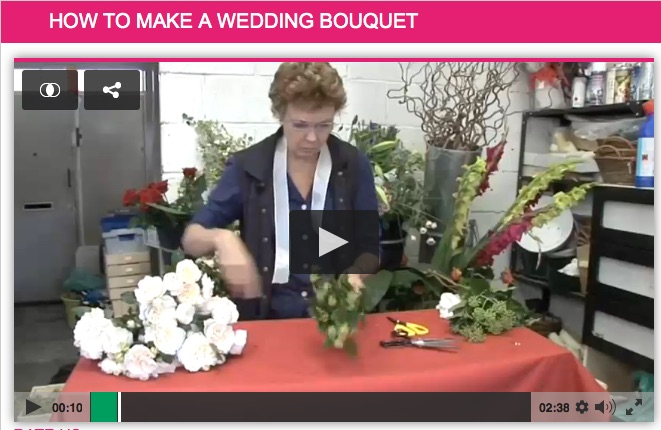 DIY Bouquet Video