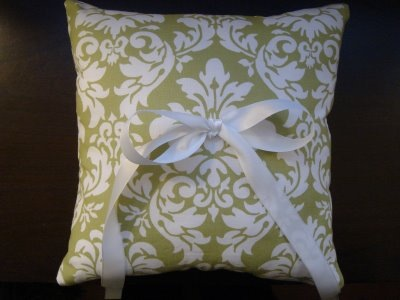 Darci's Ring Bearer Pillow