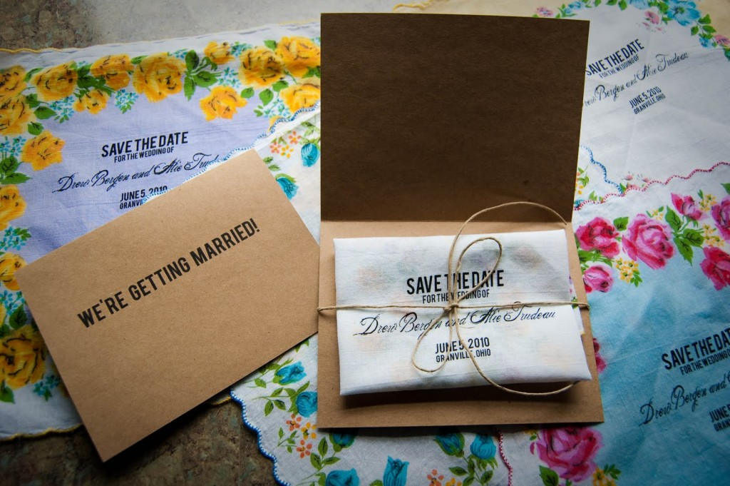 Real Yudu Project: Alie's Save-The-Dates