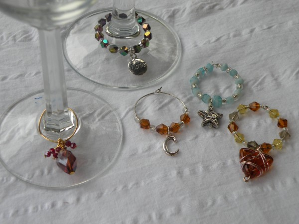 How To Make Beaded Wine Charms