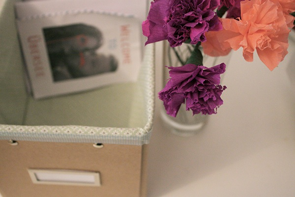 Fabric-Lined Program Box
