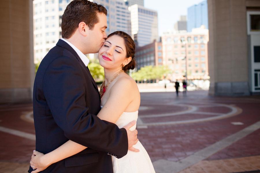 Beca & Brian's Contemporary Boston Wedding