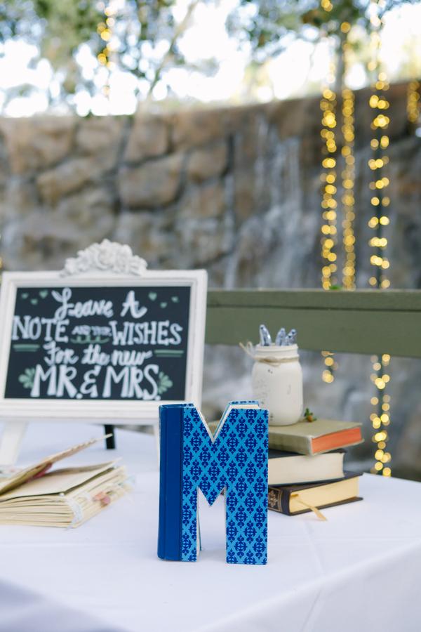 Jenna & Jesse's DIY Vintage Book Themed Wedding Day