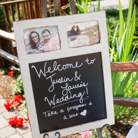 Laura & Justin's Country Garden Wedding