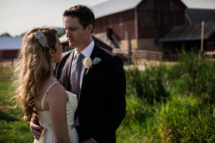 Lisa & Kyle's DIY Wisconsin Farm Wedding
