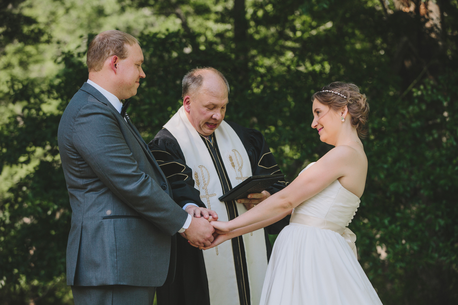 Caitlin & James' Beautiful Eco-Friendly Wedding