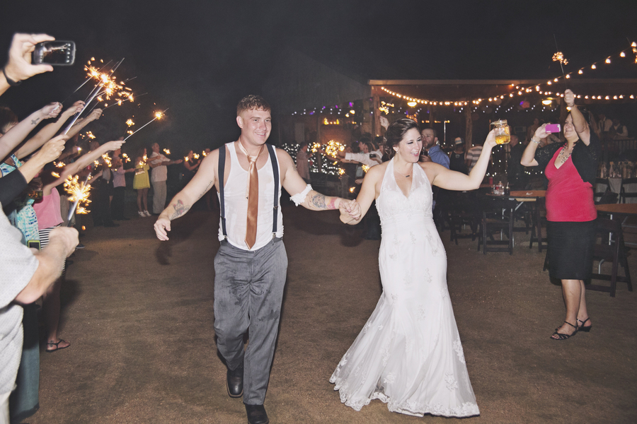 Jessica & Andy's DIY Fall Wedding in Texas