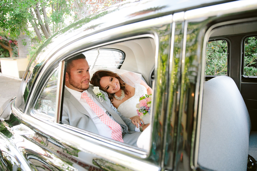 Cassie & Carlos' DIY Estate Wedding
