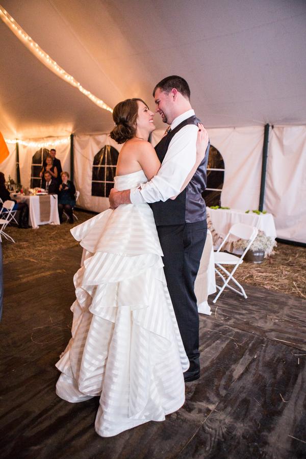 Jeana & Doug's Romantic Fall Wedding