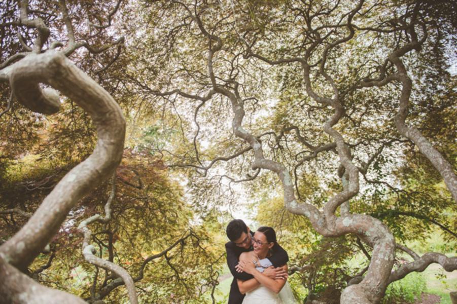 Lauren & Justin's Waterfront DIY Wedding