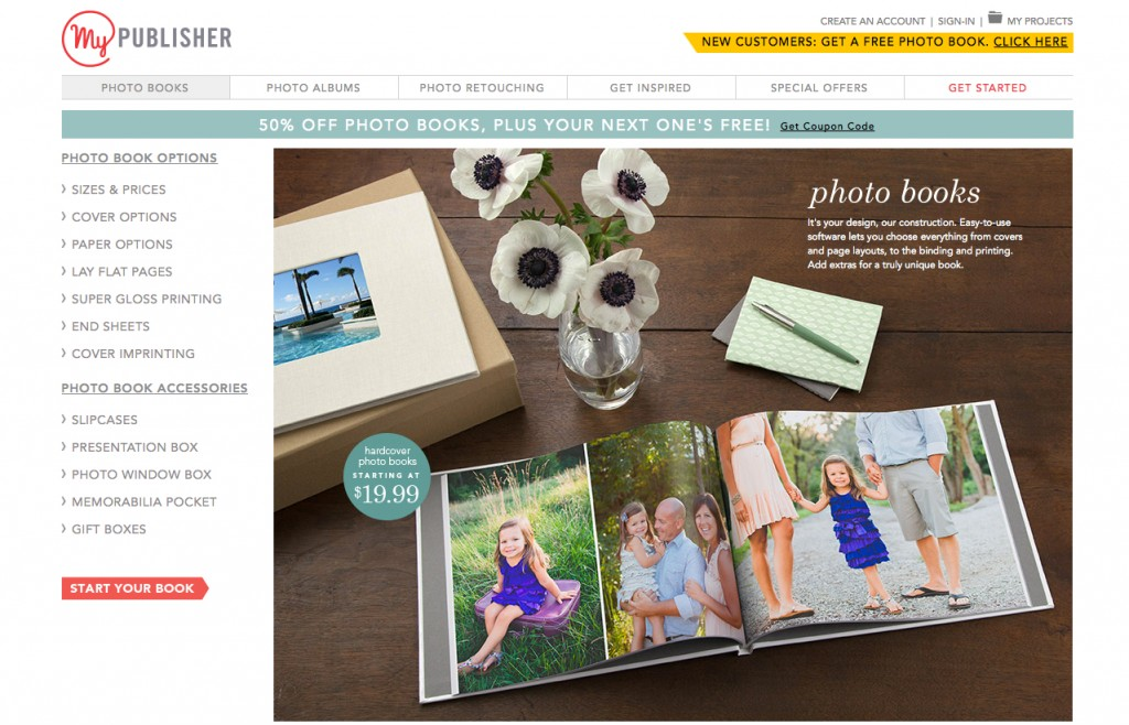 Create Gorgeous (And Affordable) Photo Albums With MyPublisher