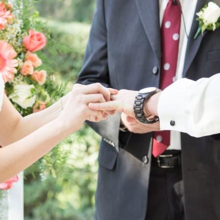 Kathyrn & Scott's Springtime Rustic Wedding