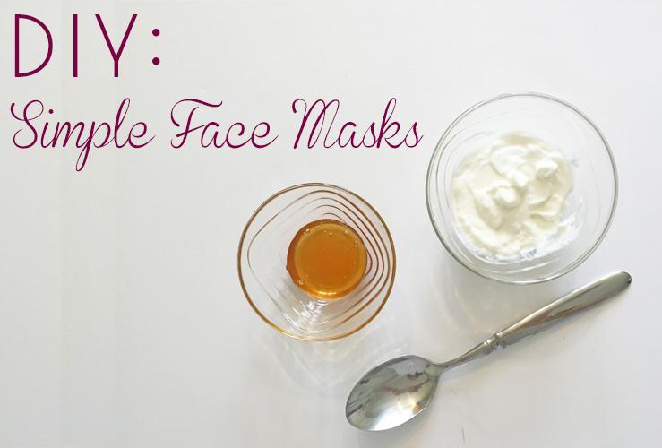 DIY: 3 Face Masks