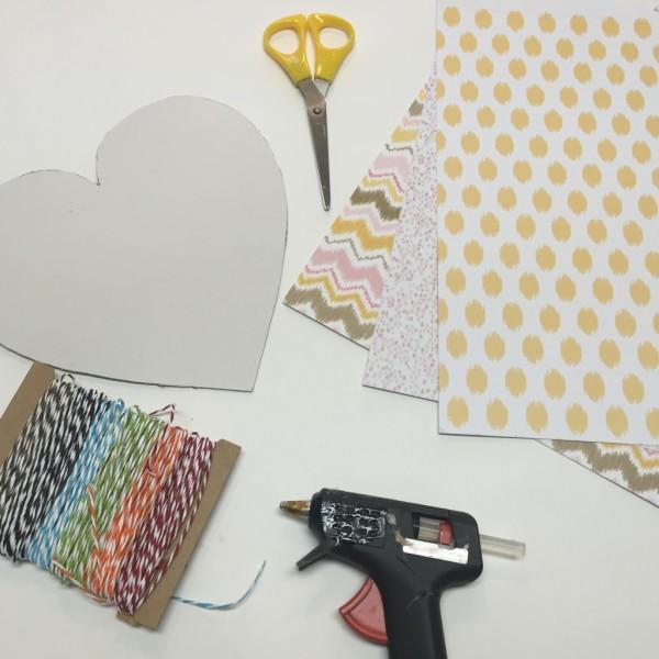 DIY | Hanging Paper Heart
