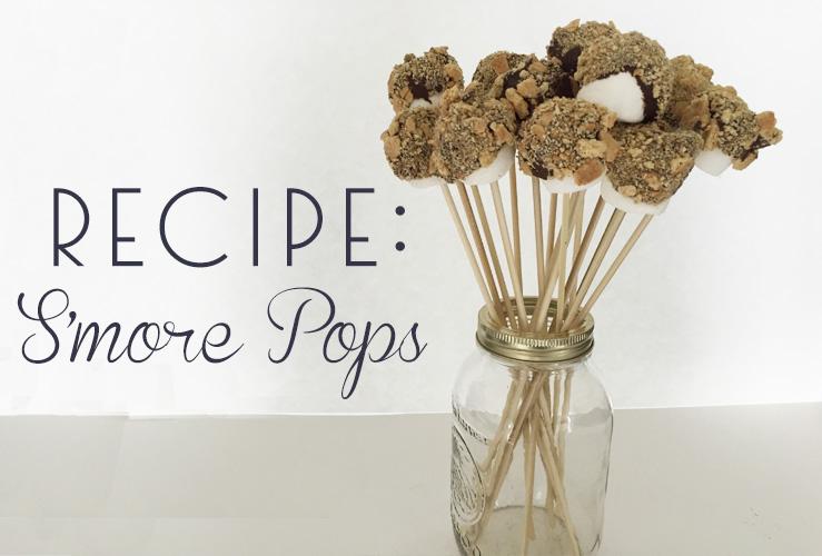 RECIPE: S'more Pops