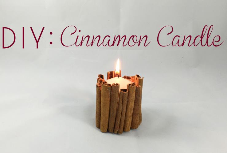 DIY: Cinnamon Candles