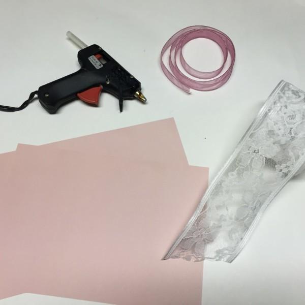 DIY: Ribbon & Lace Invitations