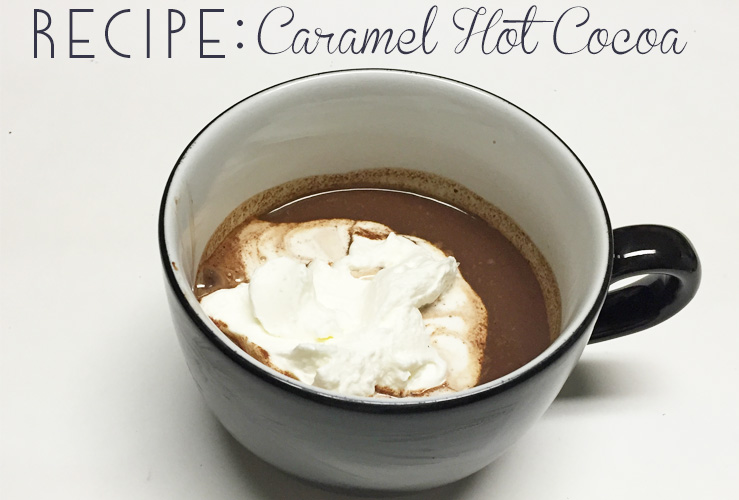 Recipe: Spiked Caramel Hot Cocoa