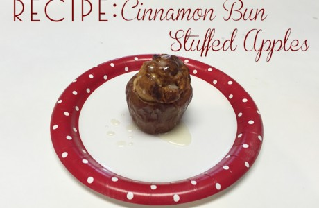 Recipe: Cinnamon Bun Stuffed Apples