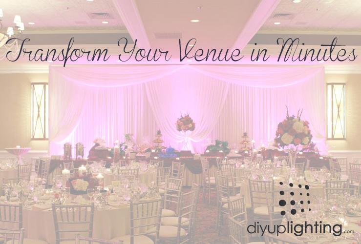 Diy uplighting transform your venue in minutes diy bride diy uplighting transform your venue in minutes solutioingenieria Gallery