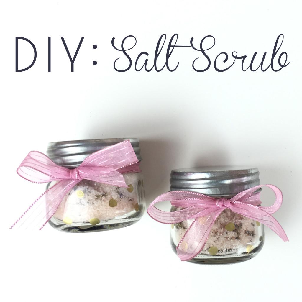 DIY: Lavender Salt Scrub