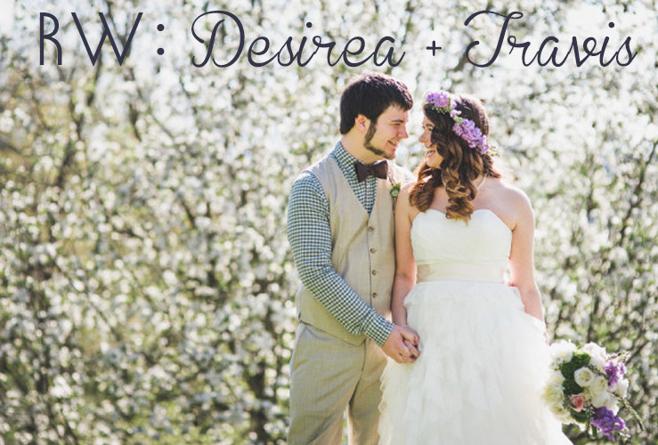 REAL WEDDINGS: Travis + Desirea's Vineyard wedding