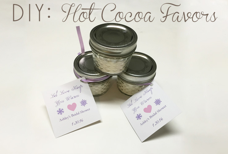 DIY: Hot Cocoa Favors