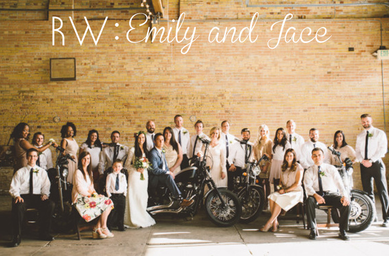 REAL WEDDING: Emily + Jace's Industrial and Natural Wedding