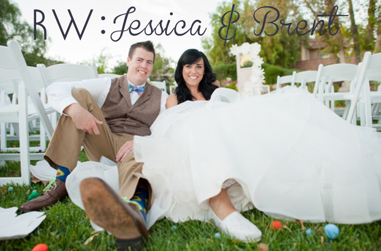 REAL WEDDING: Jessica + Brent's Mint To Be Unique Wedding