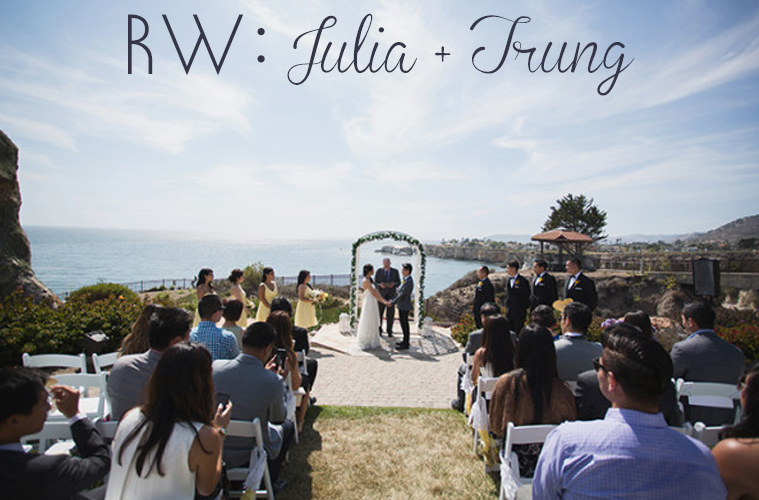 REAL WEDDING: Julia + Trung's Pismo Beach Wedding