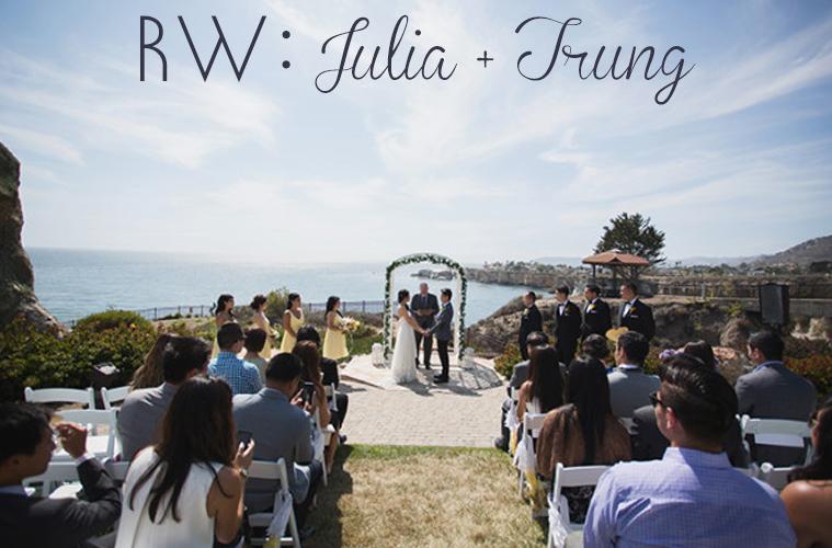Real Wedding Julia Trung S Pismo Beach