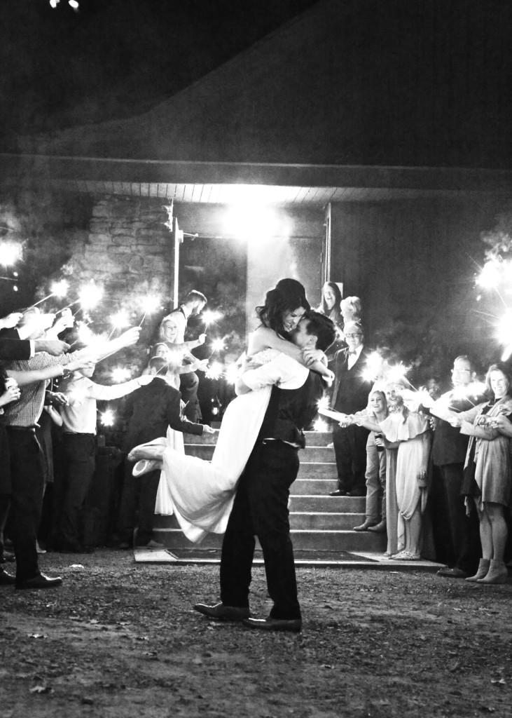 Whitney + Tate's Woodland Chic DIY Wedding