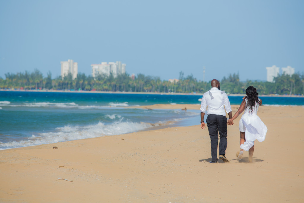 Debbie + Felix's Golden Beach Romance Wedding!