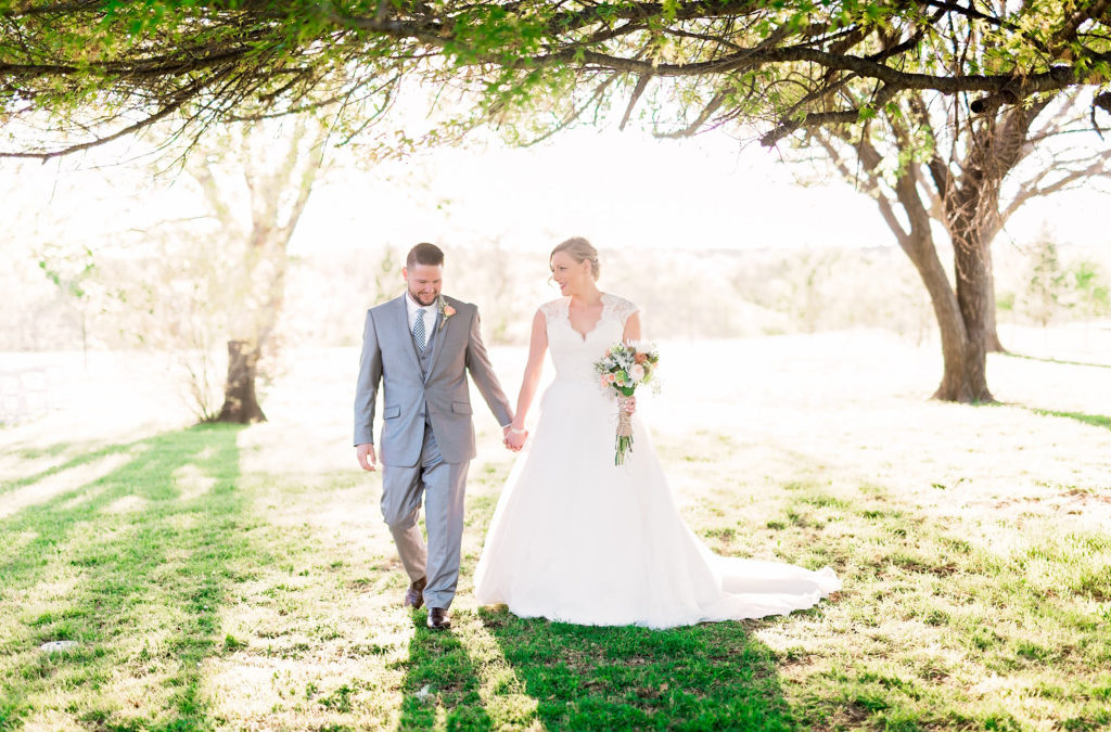Real Wedding: Mallorie + Taylor's Texan Wedding