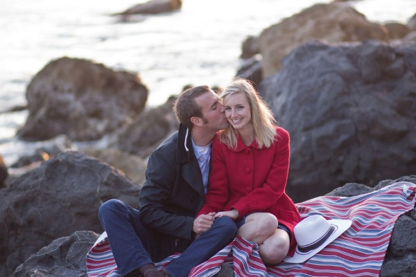 Megan + Andrew's Nautical Engagement Session