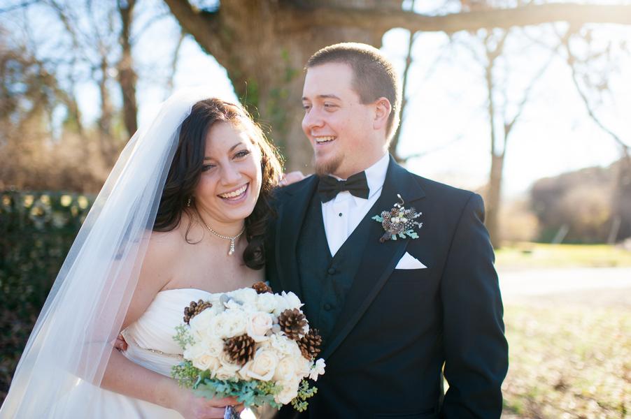 Tasha + Aaron's Winter Wedding